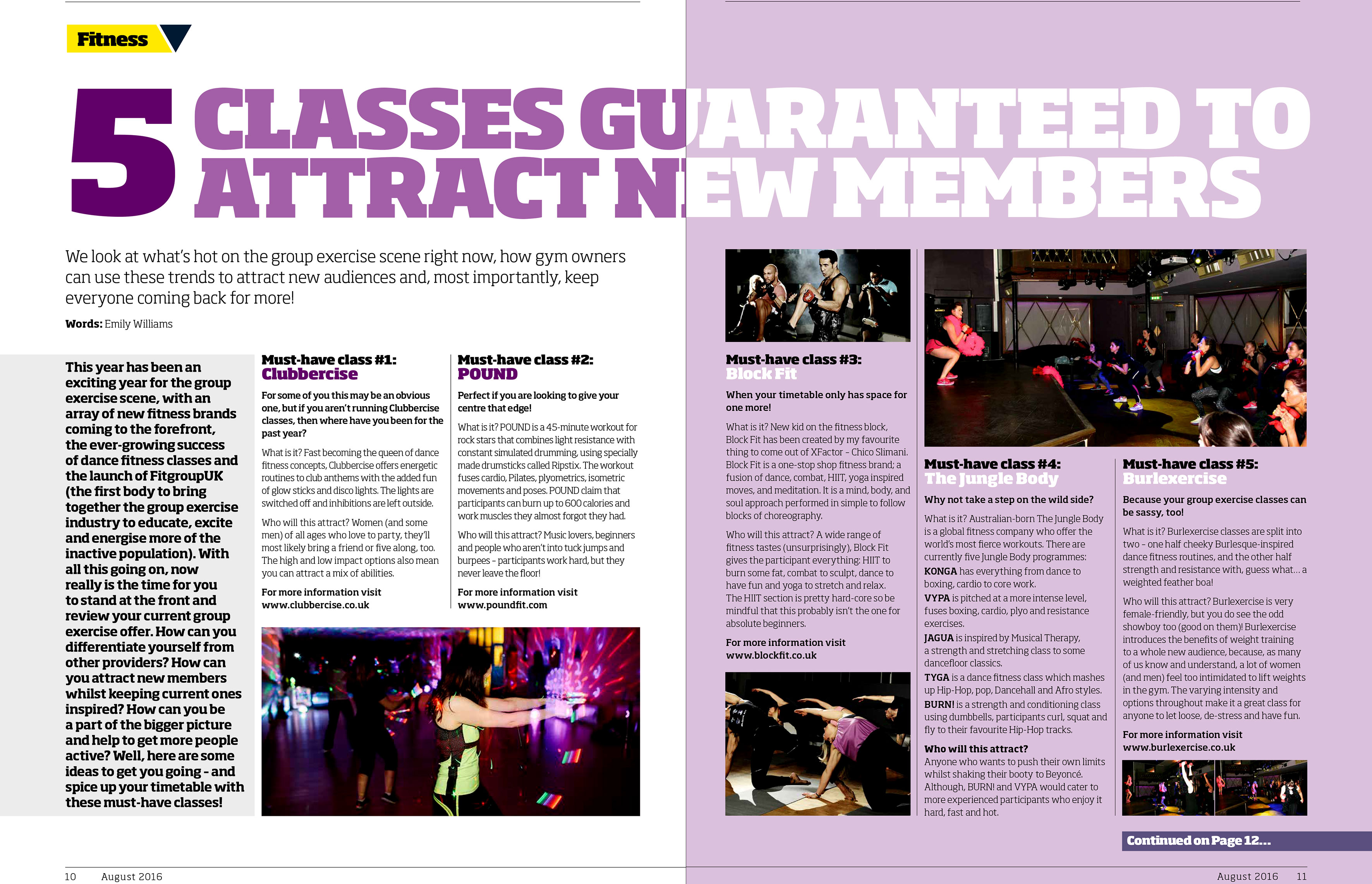 AUG 16 Gym Owner Monthly Clubbercise WEB