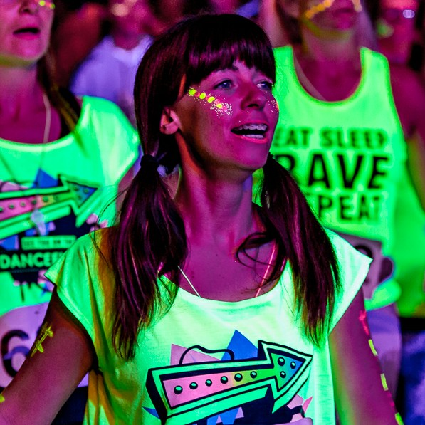 Clubbercise Instructor Aleasha Wallace