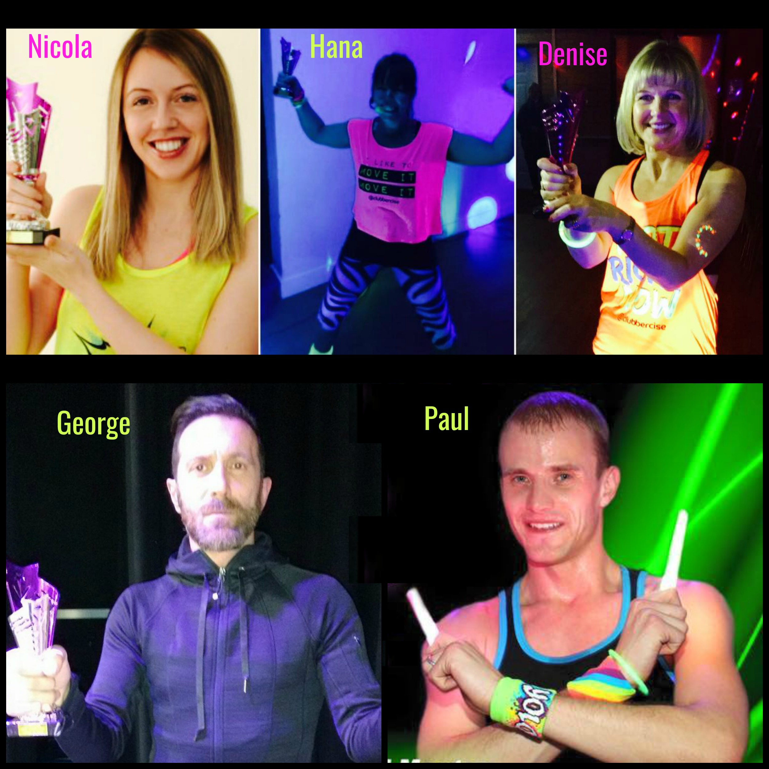 Clubbercise Hero Instructors 2016 Winners