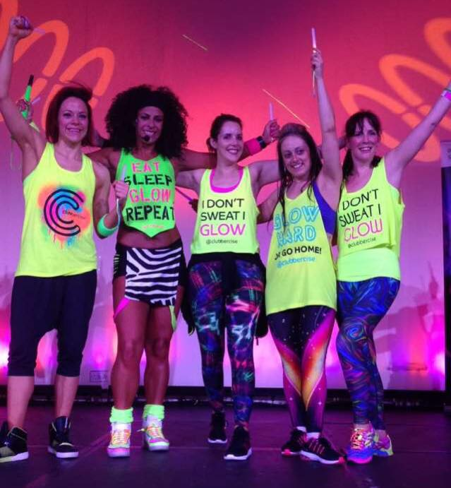 Clubbercise win award at Blackpool IFS
