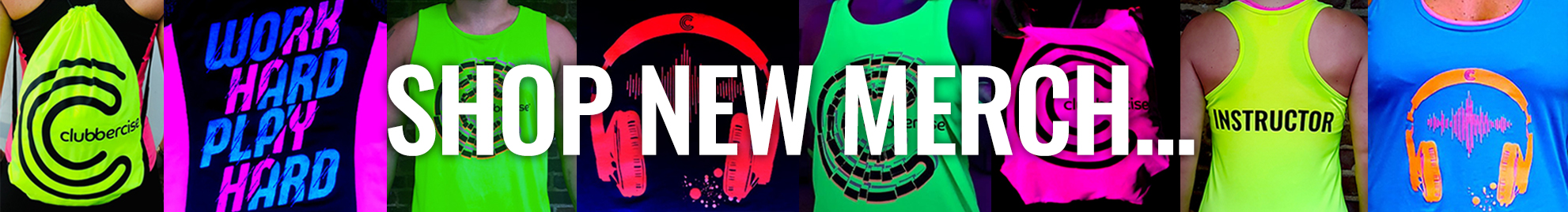 Clubbercise Desktop Home MerchBanner Crop