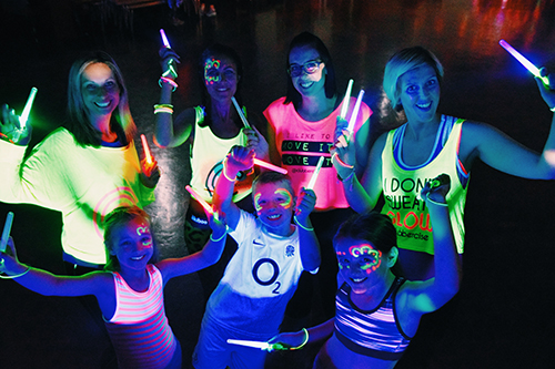 Family Clubbercise Photo